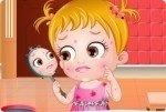 Baby Hazel e i problemi di pelle
