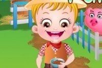 Baby Hazel alla fattoria
