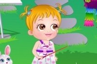 Baby Hazel e la festa in giardino