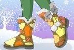 Caldi stivali da neve