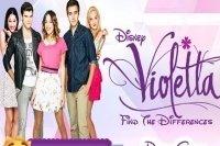 Cerca le differenze di Violetta