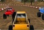 Corsa con la jeep
