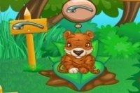 Cura gli animali della foresta