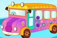 Decorazione dello Scuolabus