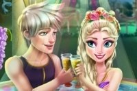 Elsa nella Jacuzzi