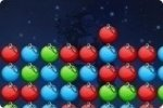 Fai clic sulle palle di Natale