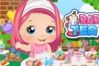 Il tea party di Baby Alice