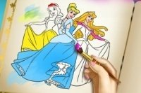 Libretto da colorare Principesse