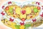 Prepara la torta del cuore