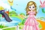 Principessa nel parco acquatico