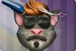 Talking Tom dal parrucchiere