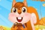 Tenero scoiattolo