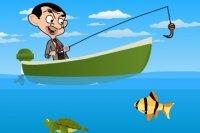 A Pesca con Mr. Bean